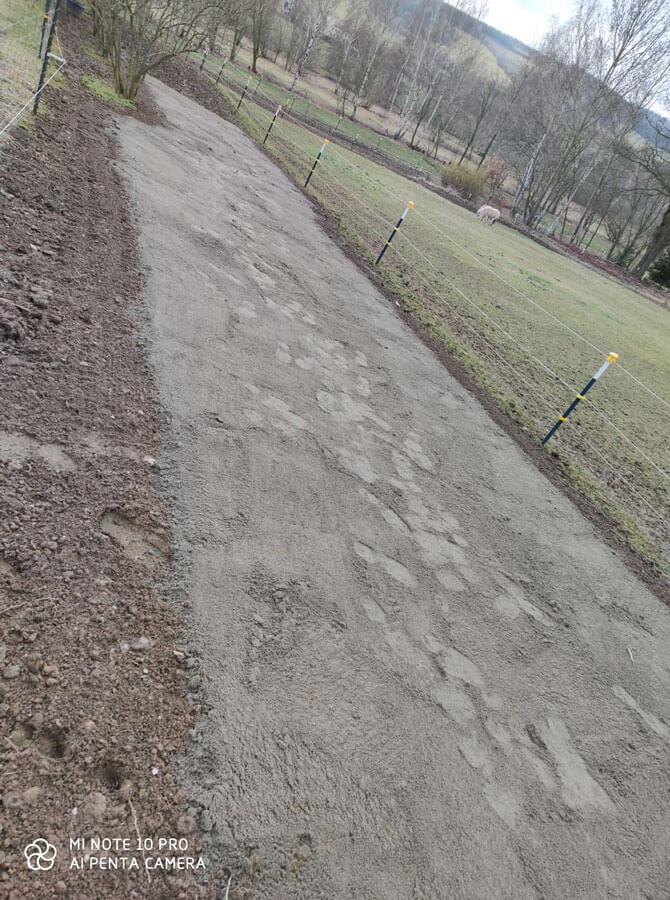 Paddock Trail mit Paddockplatten